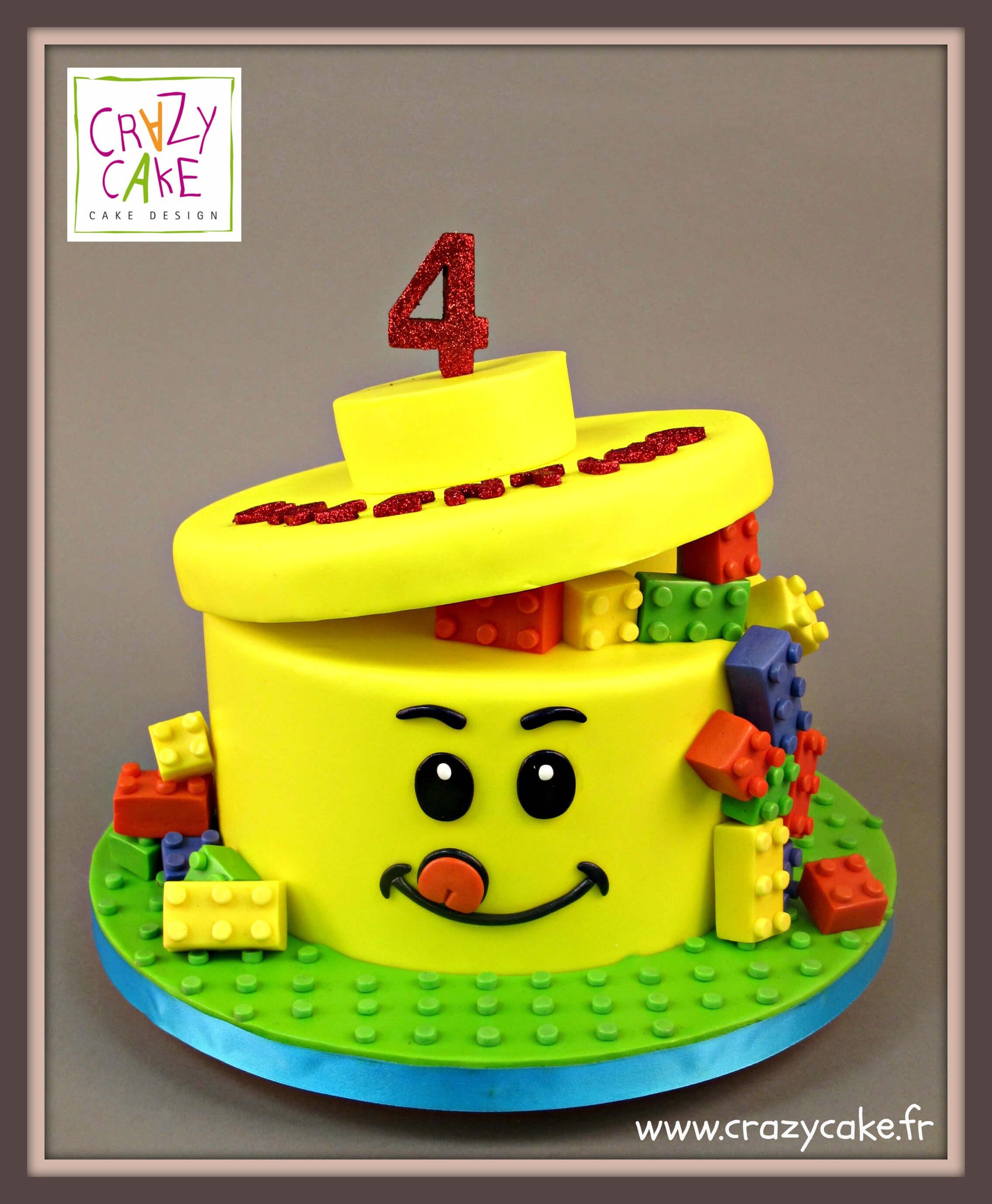 Gateau D Anniversaire Monsieur Lego