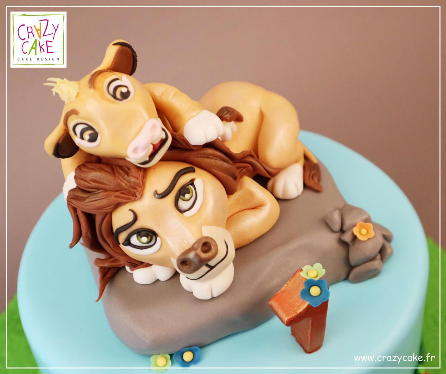 Figurine Simba Et Le Roi Lion