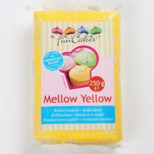 Pâte à sucre jaune/mellow yellow - FunCakes