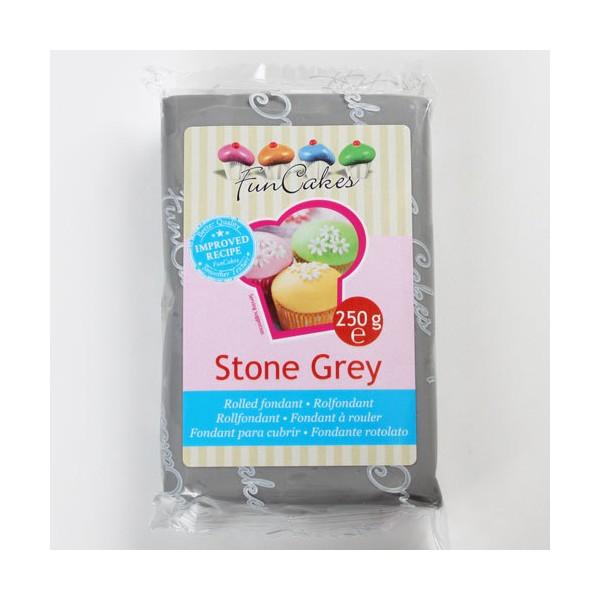 Pâte à sucre gris/stone grey - FunCakes