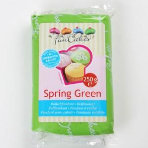 Pâte à sucre vert/Spring green - FunCakes