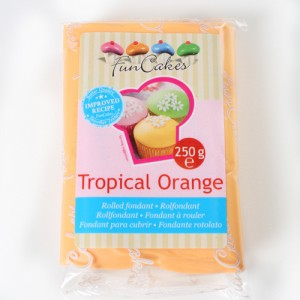 Pâte à sucre orange/Tropical orange - FunCakes