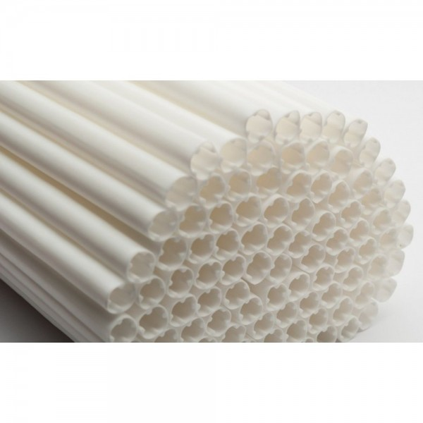 Poly-Dowels blanches