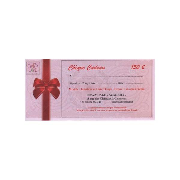 Chèque cadeau - Crazy Cake Academy