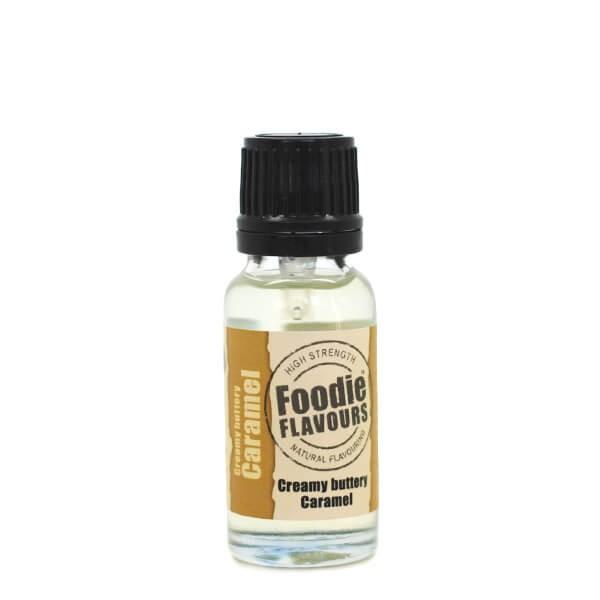 Arôme naturel caramel crémeux