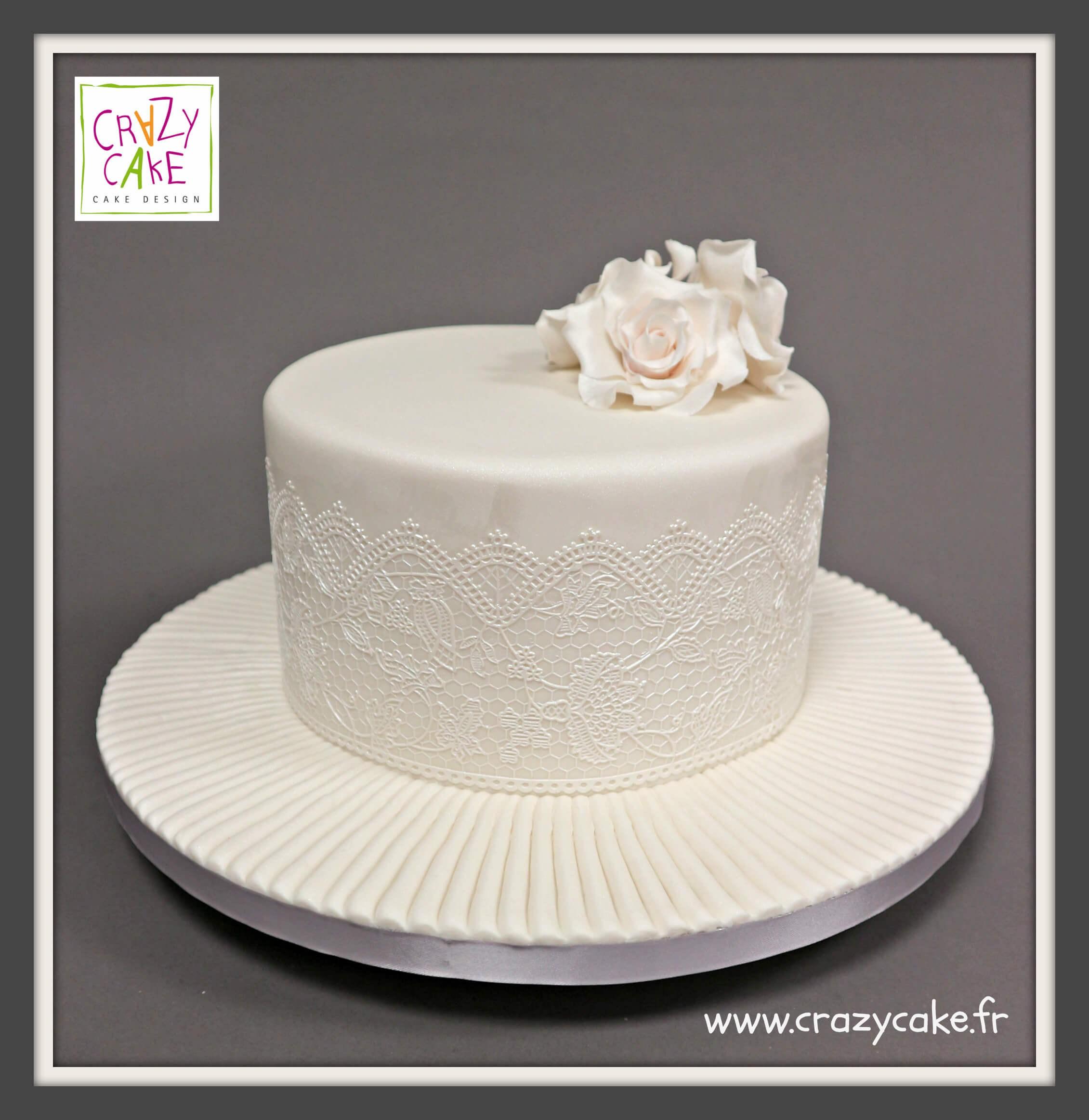 Gâteau Boheme Chic Crazy Cake
