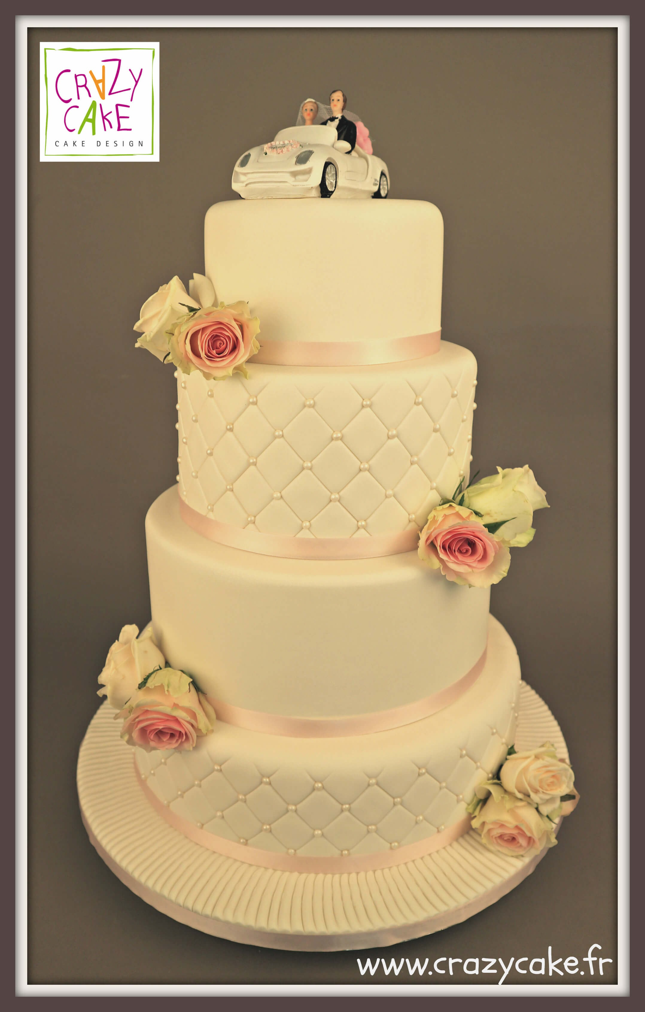 "Wedding Cake ""Amour éternel"""