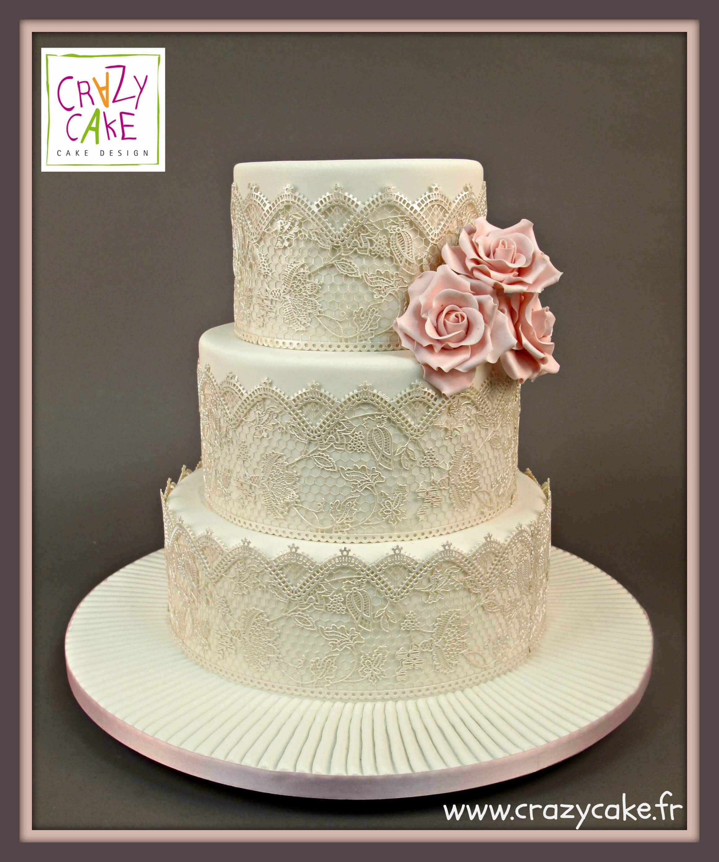 "Wedding Cake ""Romantique"""