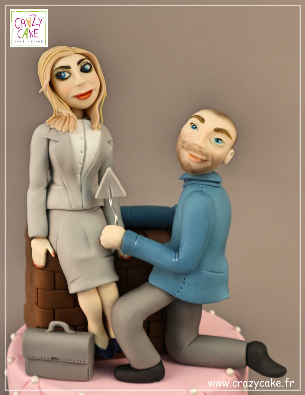 "Figurine de mariage ""Together forever"""