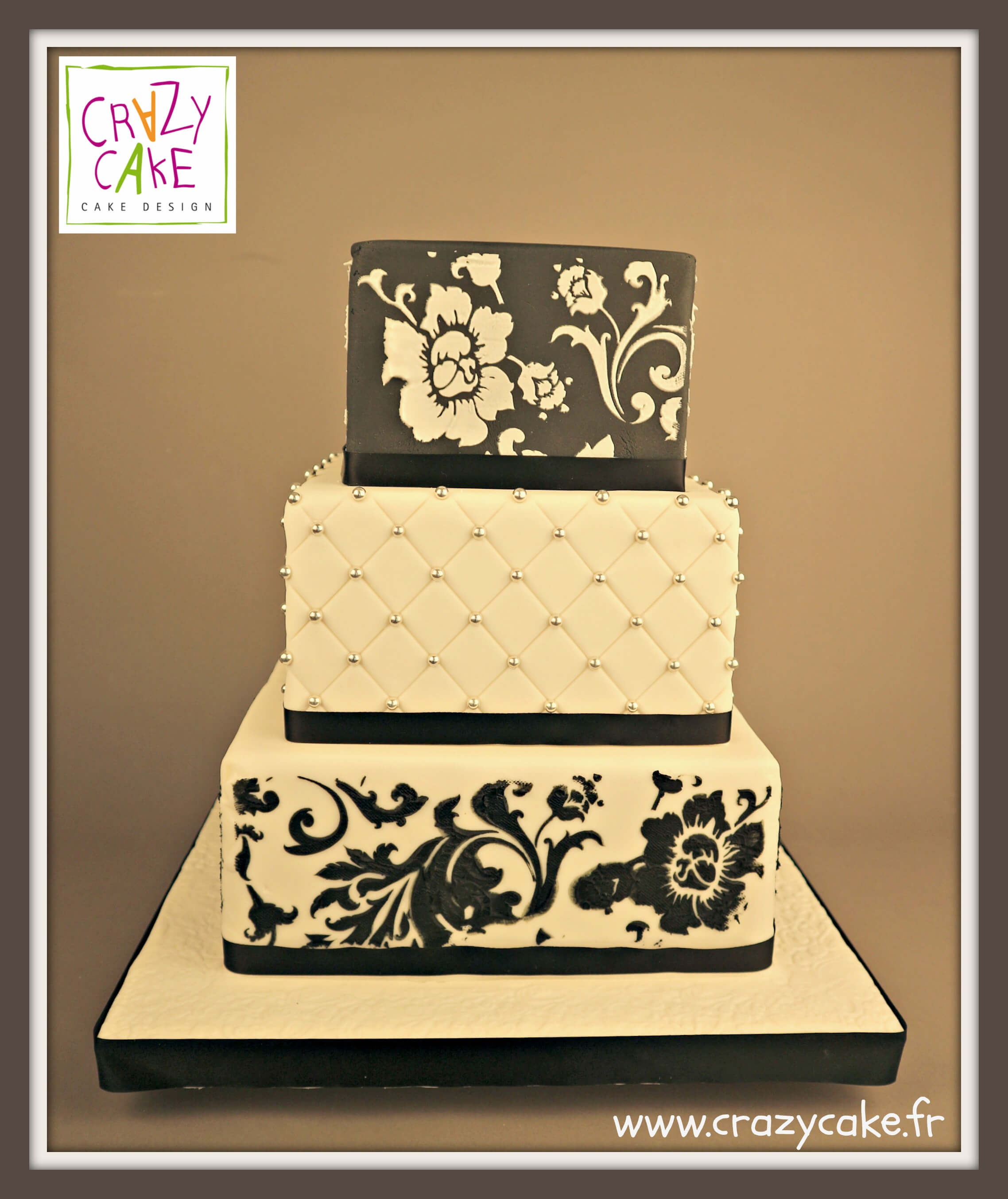 "Wedding Cake ""Rose chic"""