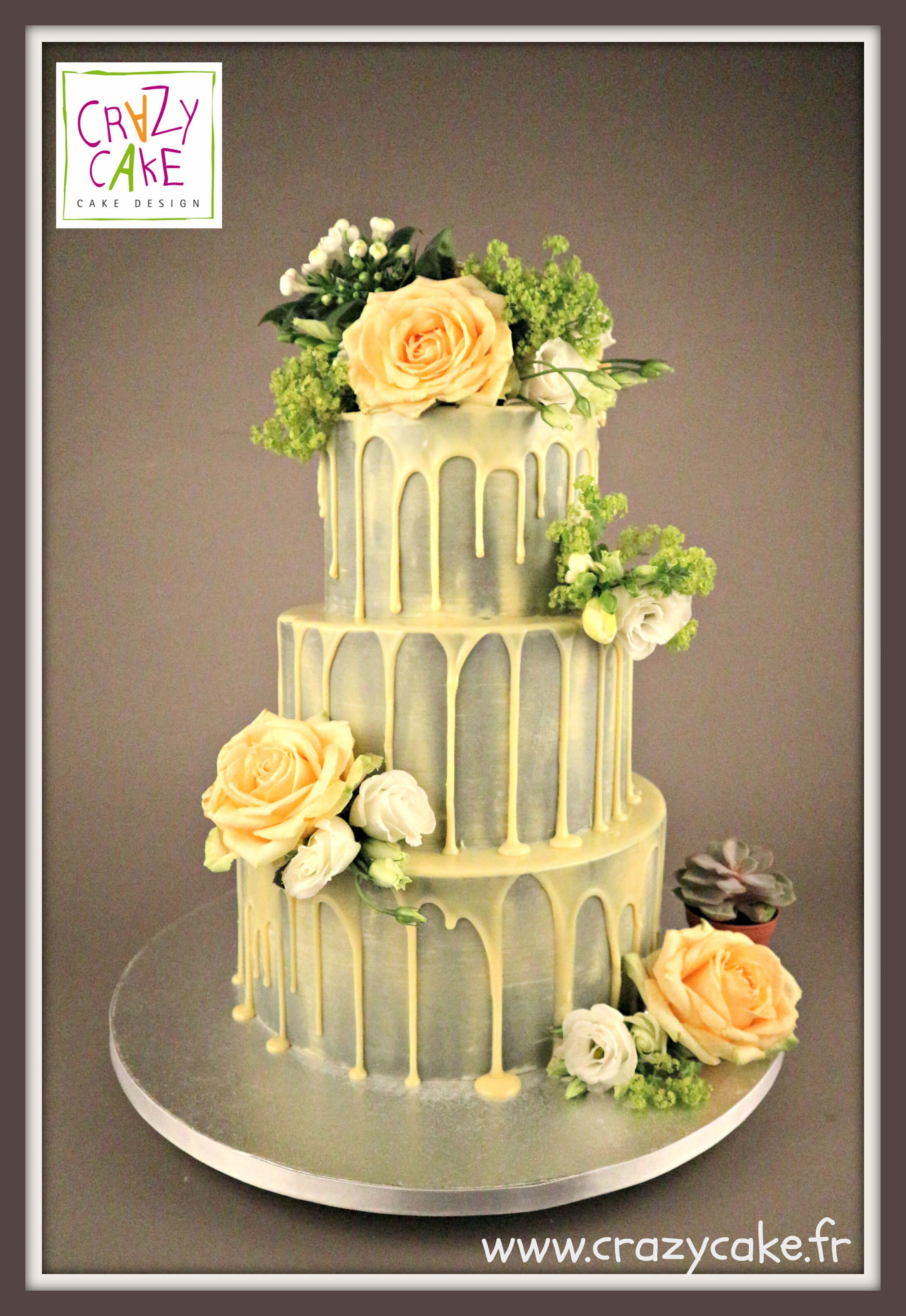 "Wedding Cake ""Harmonie rustique"""