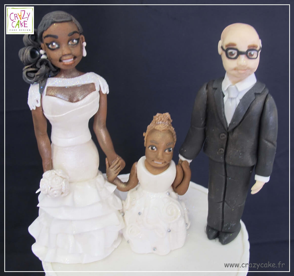 "Figurines de mariage ""Happy Family"""