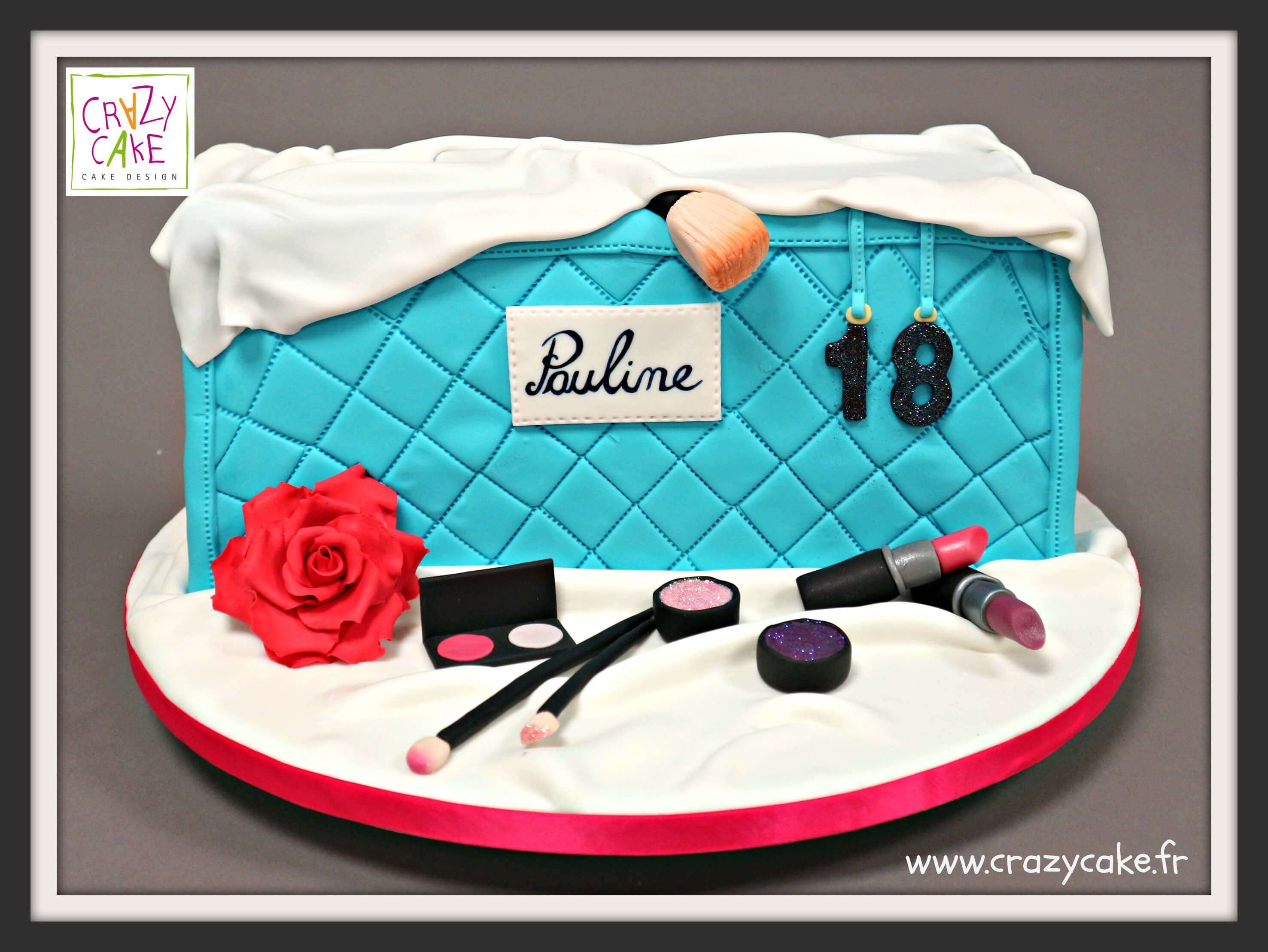 "Gâteau d'anniversaire ""Make-up forever"""