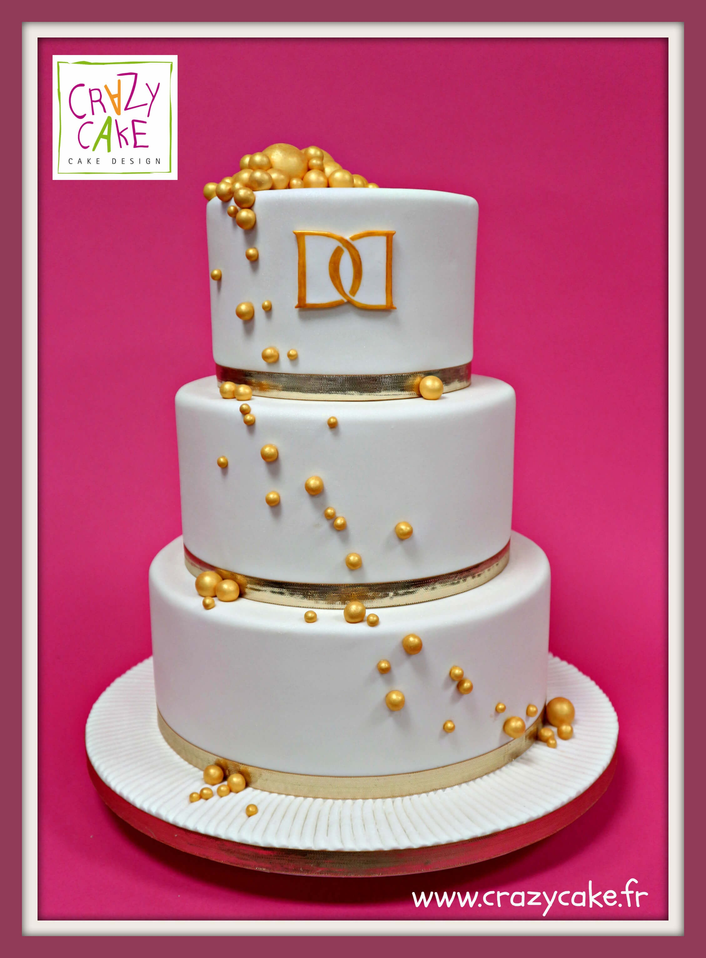 "Wedding Cake ""Perle d'or"""