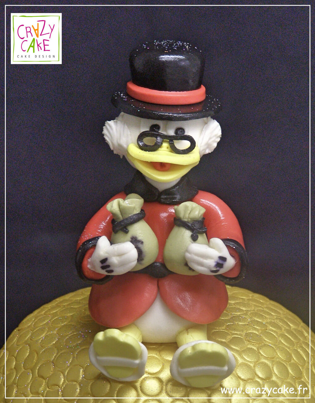 "Figurine ""Oncle Picsou"""