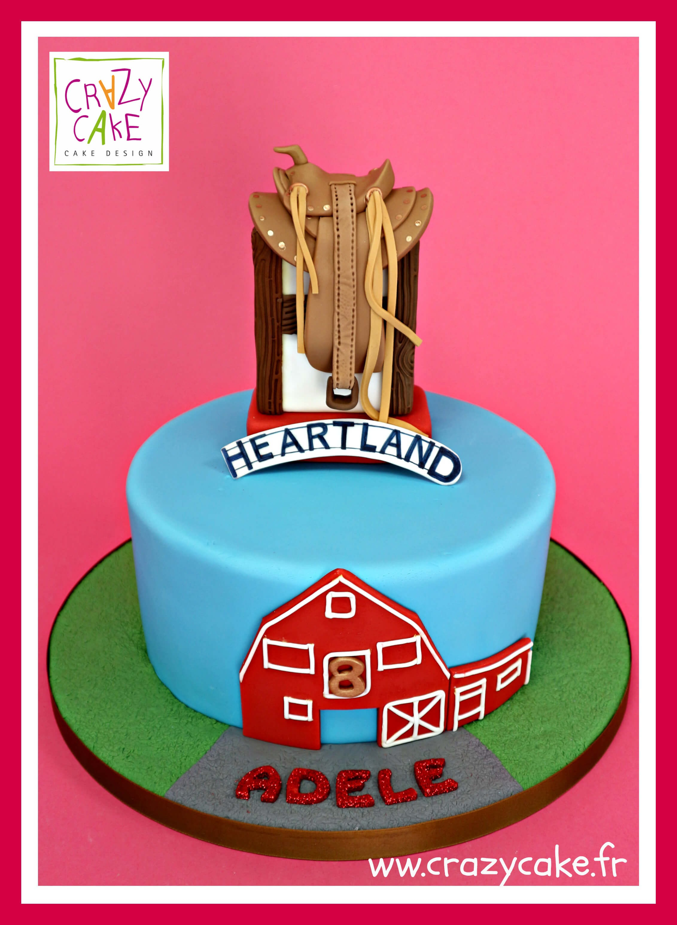 "Birthday cake ""Heartland"""