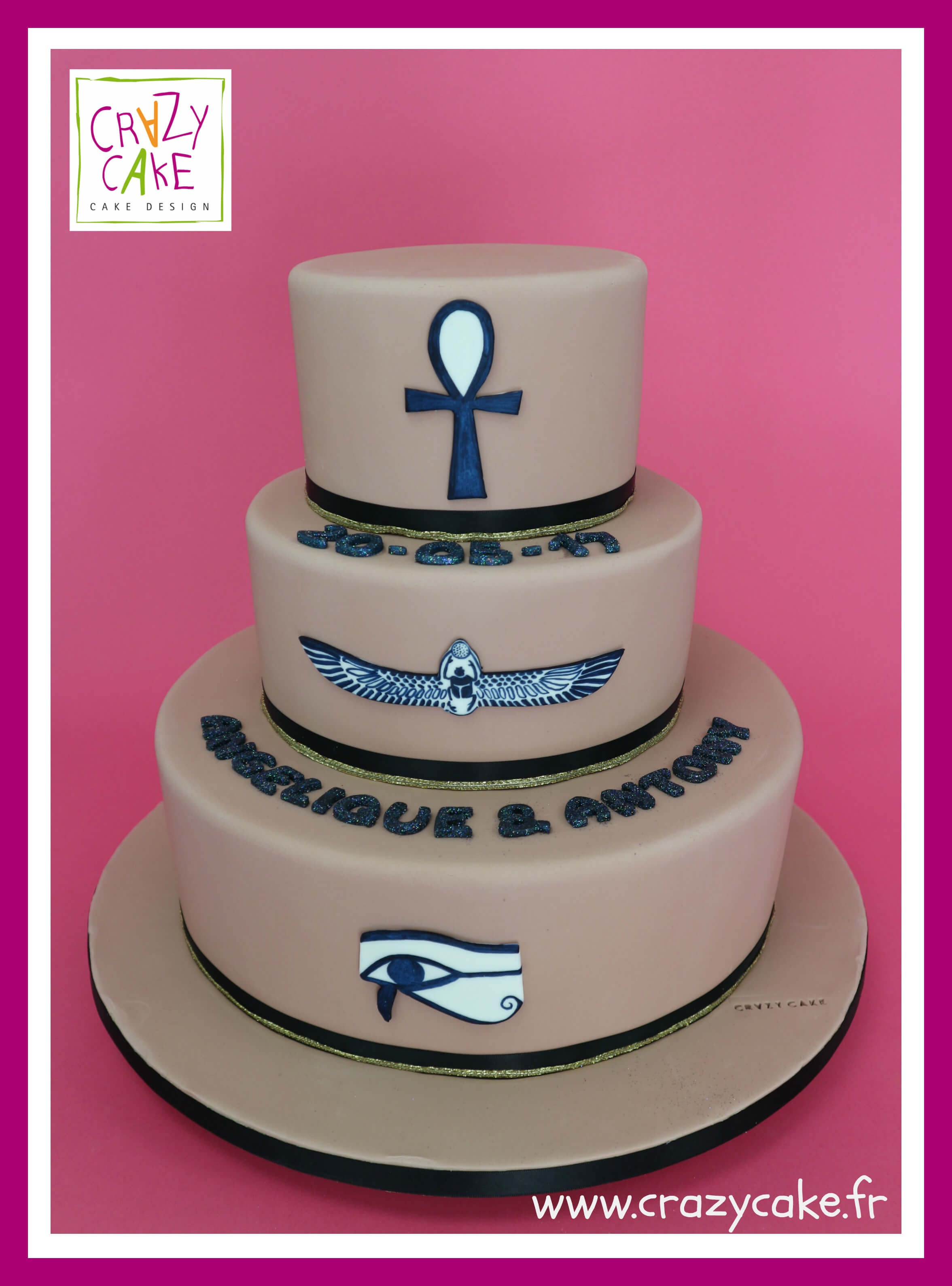 "Wedding Cake ""Egypte"""