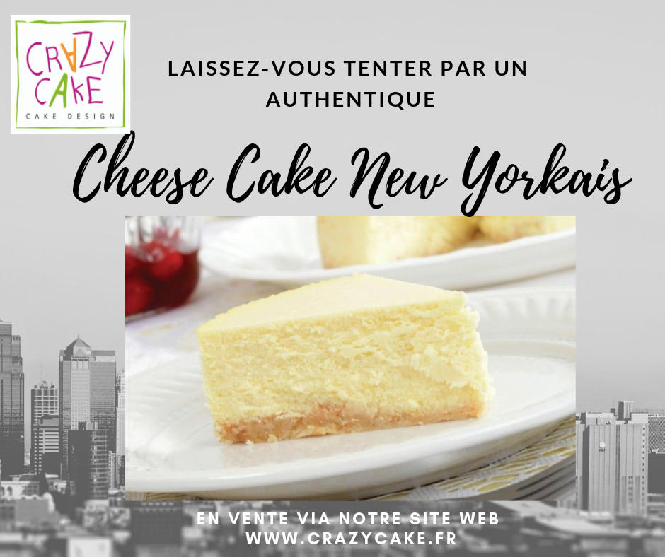 L'authentique Cheese Cake New Yorkais est de retour