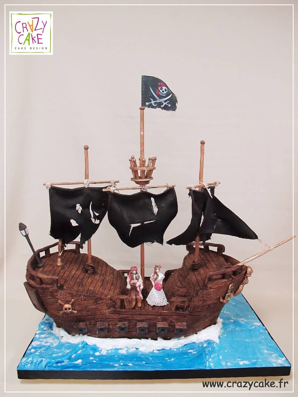 "Wedding Cake ""Pirates des Caraïbes"""