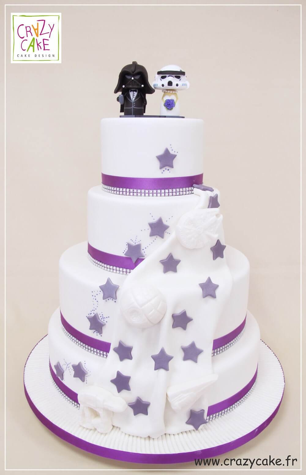 "Wedding Cake ""Star Wars"""
