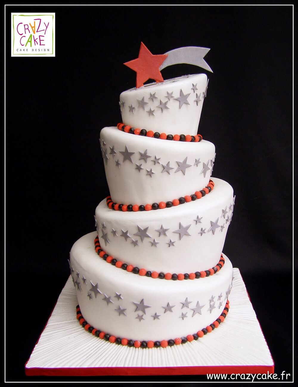 "Wedding Cake ""United Stars"""