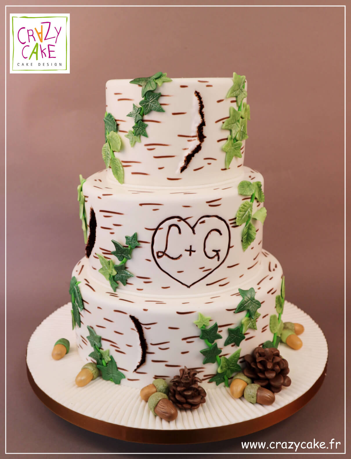 "Wedding Cake ""Je t'aime"""