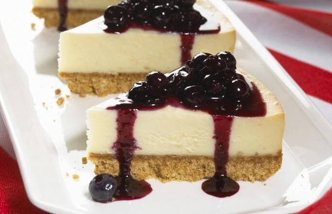 Cheesecake groseille