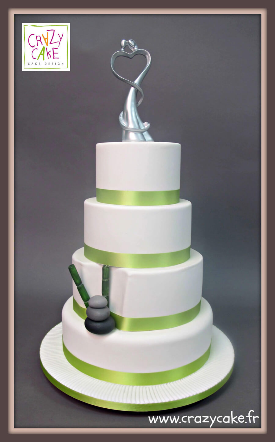 "Wedding Cake ""Bamboo"""